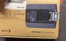 Sprint Netgear 341U 4G LTE Worldwide USB Aircard Broadband Modem