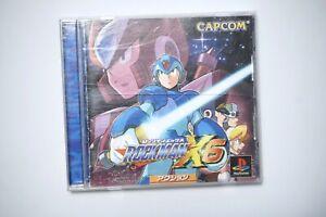 PlayStation 1 Rockman X6 Megaman Japan PS1 game US Seller