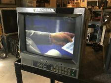"""SONY MONITOR PVM-1341 13"""" CRT RGB COMPONENT GAMING MONITOR"""