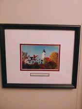 Point Iroquois Lighthouse - Brimley Michigan Up Artwork Lake superior