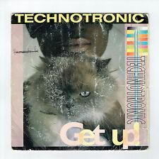 """TECHNOTRONIC Vinyl 45 tours 7"""" SP GET UP - Chat ON THE BEAT1388-7 Frais Reduit"""