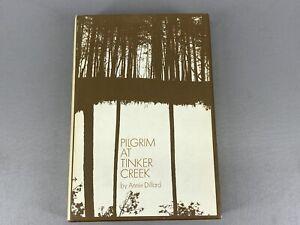Pilgrim At Tinker Creek Annie Dillard Harper's Magazine HCDJ 1st US EDITION 1974