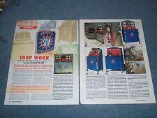 "2005 Sun Shop Equipment Info Article ""Shop Worn"" Scope Engine Tester"