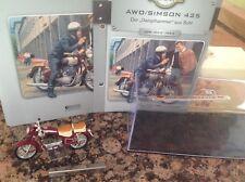 AWO Simson 425 Motorrad Fahrzeuge DDR  Atlas Verlag OVP 1:24