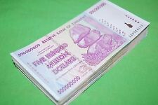 15 PCS ZIMBABWE 500 MILLION DOLLARS | GUARANTEED 2008 AA SERIES ONLY!