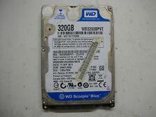 """WD Scorpio Blue 320gb WD3200BPVT-22JJ5T0 2060-771820-000 Rev P1 HDD 2,5 """" SATA"""