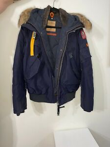 Parajumpers Gobi mens jacket Navy Blue, Size L, Great Condition
