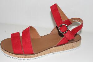 Paul Green Sandalette rot Gr. UK 5,5 = Gr. 38,5 NEU (#149)