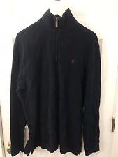"""Ralph Lauren """"Polo"""" Men's Large Lot of 2 1/4 Zip Pullover Sweaters"""