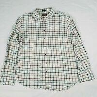 Rodd & Gunn Woven in ITALY Men's L Button Front XL Shirt Sports Fit Multi Plaid