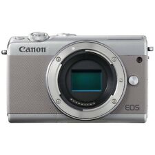 CANON EOS M100 Mirrorless Camera Body Only Gray Japan Ver. New / FREE-SHIPPING