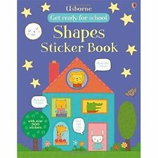 Shapes Sticker Book (Get Ready for School Sticker Books), Hannah Wood, New Book