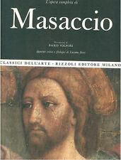 MASACCIO L'OPERA PITTORICA COMPLETA RIZZOLI 1968 CLASSICI DELL'ARTE 24