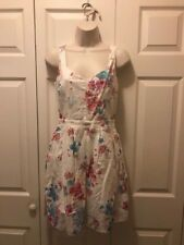 0b35a74839e Women s Floral Linen Sun Dress by French Connection - Size 6