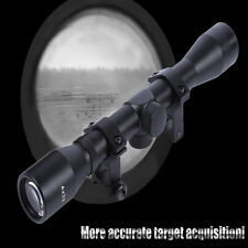 Hunting Tactical 4X32 Sniper Telescopic Scope Sight Riflescope 20MM Rail Mount