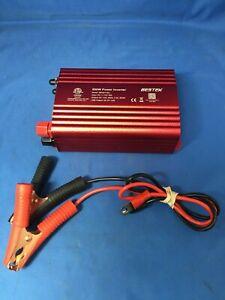 Bestek 500W DC to AC Car Power Inverter
