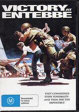 VICTORY AT ENTEBBE - KIRK DOUGLAS & RICHARD DREYFUSS  NEW ALL REGION DVD