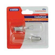 Status 40W hotte cuisinière Lampe ses / E14 (2 par paquet) glm34358