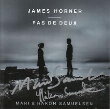 MARI & HAKON SAMUELSEN James Horner: Pas De Deux SIGNED / AUTOGRAPHED CD + CoA