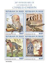 Niger 2019   Charles Darwin, dinosaurs  S201904