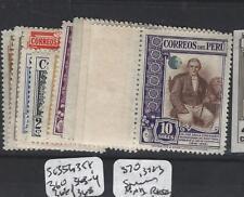 PERU  (PP0904B)   SC 356, 358, 360, 363-4, 366, 368 370, 372-3 SPECIMEN  MNH