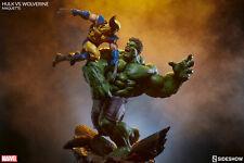 Sideshow Marvel Hulk vs. Wolverine Maquette - Avengers, X-Men, Statue