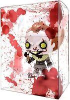 "PopTekta - 4"" Blood Splatter Design Pop Protectors Soft Shells Acid Free Alien"