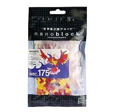 Phoenix Nanoblock Miniature Building Blocks New Sealed NBC175
