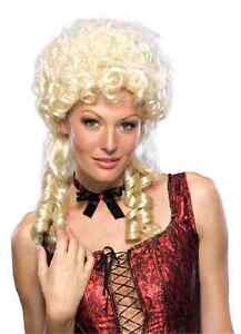 Sweet Marie Wig Antoinette Curly Dress Up Halloween Costume Accessory 2 COLORS