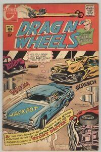 Drag N' Wheels #42 August 1970 VG/FN