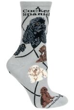 COCKER SPANIEL Socks~WheelHouse~M~Gift! Mix n' Match Get 4th Pair FREE Sale!