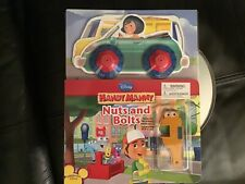 Disney playhouse handy manny nuts and bolts book new sealed very rare with tools