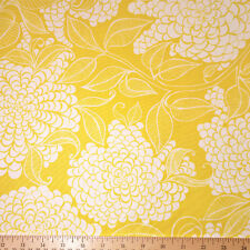 By Yard-Mystic Canvas Flower Fabric Robert Kaufman 15861-291 Curry Yellow