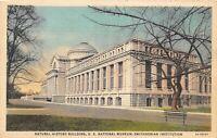 Smithsonian Museum of Natural History Washington DC Vintage Postcard A04
