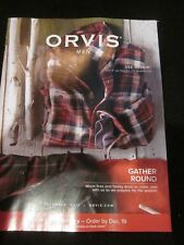 ORVIS MEN CATALOG DECEMBER 2017 GATHER ROUND WARM FIRES AND FAMILY BRAND NEW