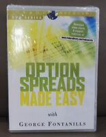 Sealed DVD George Fontanills Option Secret - Options Spread Trading Made Easy