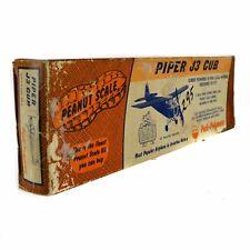 Peck-Polymers Peanut Piper J3 Cub Model Airplane Kit P-55 Balsa Wood Airplane