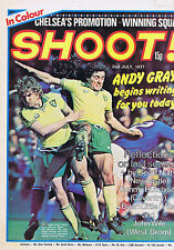 ROGER GIBBONS COLIN SULLIVAN NORWICH / CHELSEA / TERRY HIBBITTShoot2July1977