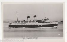 T.E.V. Princess Patricia, Canada Shipping RP Postcard, B544