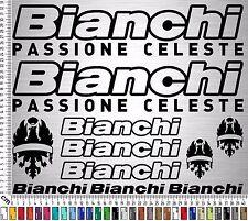 BIANCHI Sticker Set 1 | Fahrrad Rahmen Aufkleber | Bike Frame Sticker | 13 Stk.