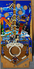 Bally Black Rose Pinball Playfield - Original Bally NOS! - Impossible to Find!