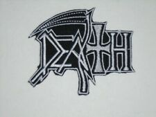 DEATH OLD LOGO IRON ON EMBROIDERED PATCH