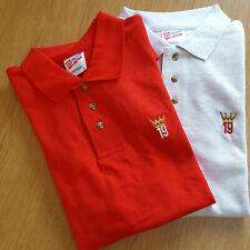 Liverpool Champions 19 Crown Premier League Winners Tribute Polo Shirt