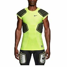 Mens NIKE Pro Combat Hyperstrong 3.0 Compression 4 Pad Football Shirt ,XL