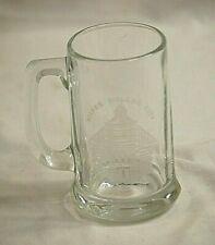 "New listing Vintage Advertising Silver Dollar City Drinking Glass Mug Barware 5-3/8"" Tall"
