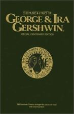 The Music & Lyrics of George & Ira Gershwin: Piano/Vocal/Chords, , Acceptable Bo