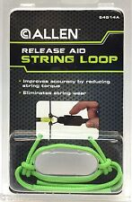 Bow Release Aid String Loop - Allen Archery (3-Pack) - Lime Green - 54514A