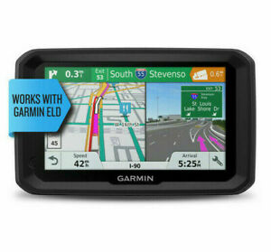 "Garmin Dezl 580 LMT-S 5"" GPS Truck Navigator With Map Updates 010-01858-02"