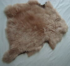 LUXURIOUS BEIGE TOSCANA LAMBSKIN SUEDE BACKED  #3050 - TRIMMING, TOYS, TEDDIES