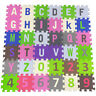 Alphabet Mat Kids Toy Jigsaw Puzzle Foam Children Playroom Tiles A-Z Letters